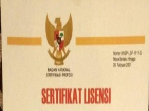 SMK Wongsorejo Gombong  Raih Sertifikat Lisensi LSP BNSP