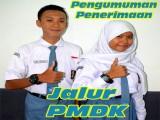 Pengumuman Penerimaan Peserta Didik Baru Jalur PMDK 2020